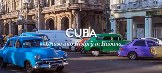 Cruise into history in Havanna