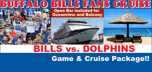 Buffalo vs Miami plus a Cruise